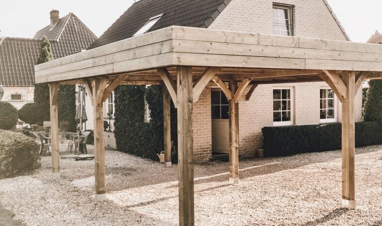 carport_buitenschrijnwerk_hout_tuinhuis_zonnepanelen_houtbewerking